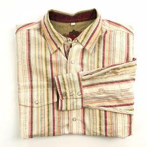Scully Pearl Snap Long Sleeve Shirt